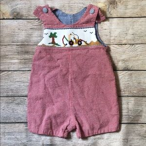 Other - Boys Long John smocked 4t -tractor